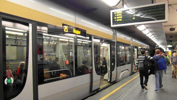 Station du métro à Bruxelles - Sputnik France