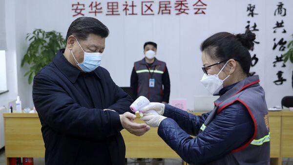 Xi Jinping, le 10 février 2020 - Sputnik France