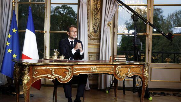 Emmanuel Macron (photo d'archive) - Sputnik France