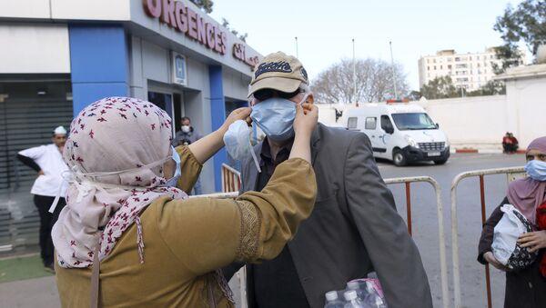 Algériens se protègent face à Covid-19 - Sputnik France