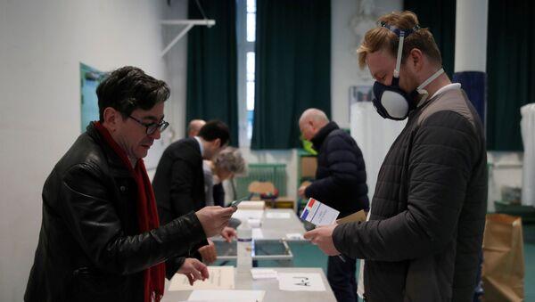 élections municipales en France, le 15 mars 2020 - Sputnik France