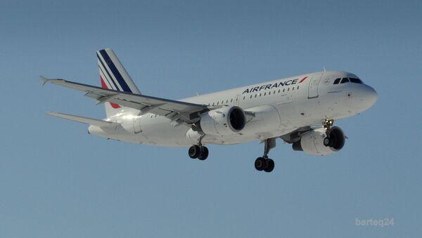 Un Airbus A319-111 d'Air France (archive photo) - Sputnik France