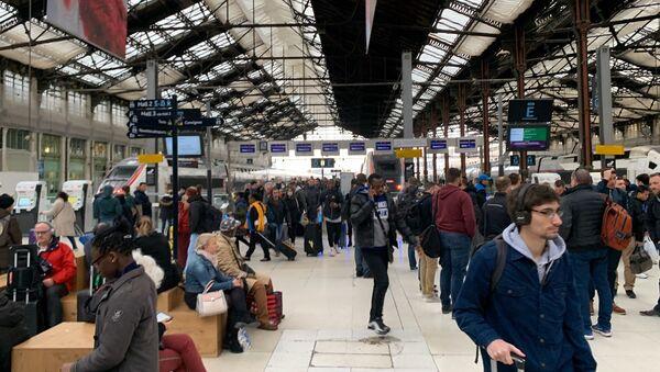 Gare de Lyon à Paris, le 16 mars 2019 - Sputnik France
