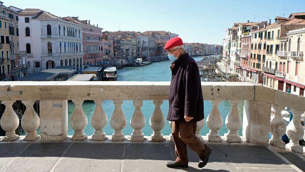 Venise pendant l'épidémie de coronavirus - Sputnik France