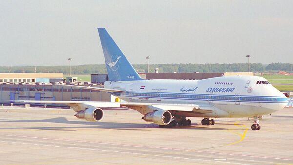 Syrian Air Boeing 747SP-94 - Sputnik France