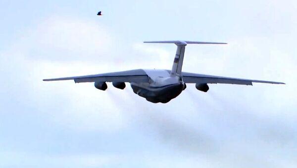 Un avion Iliouchine Il-76  - Sputnik France