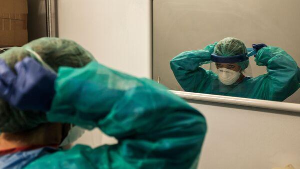 Une infirmière en Italie - Sputnik France