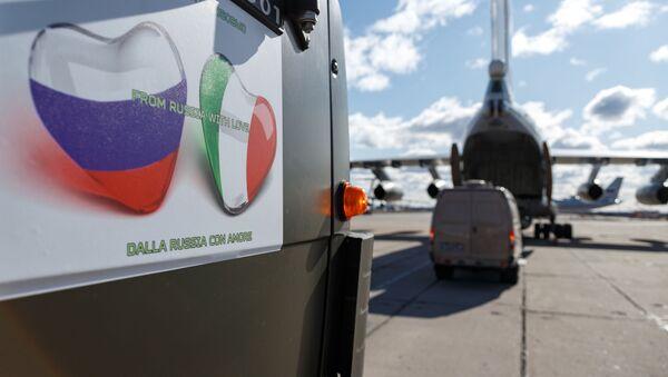 La Russie prête son concours à l'Italie dans sa lutte contre la pandémie de Covid-19   - Sputnik France