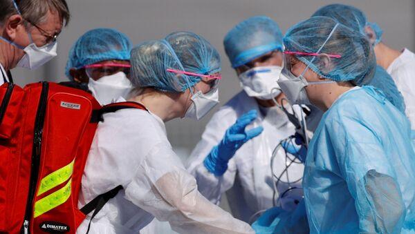 Médecins à Mulhouse - Sputnik France