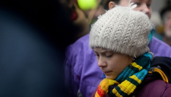 Swedish climate activist Greta Thunberg takes part in the rally ''Europe Climate Strike'' in Brussels, Belgium, March 6, 2020.  - Sputnik France