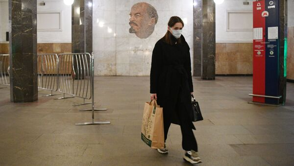 Le métro moscovite se vide à cause du coronavirus   - Sputnik France