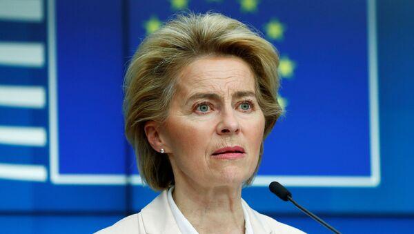 La présidente de la Commission européenne Ursula von der Leyen. - Sputnik France