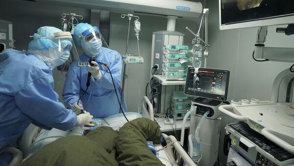 Un hôpital de Wuhan pendant la pandémie de Covid-19 - Sputnik France