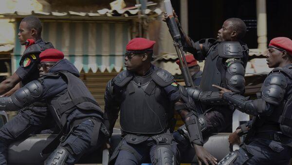 Policiers au Sénégal - Sputnik France