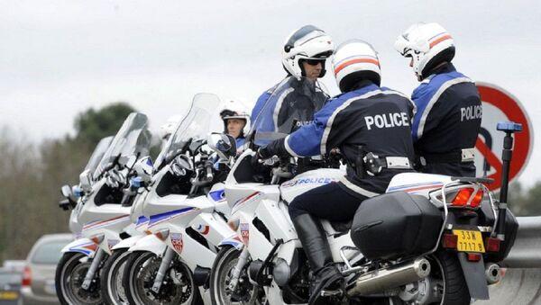 Motards de la police nationale - Sputnik France