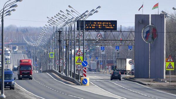 frontière entre la Russie et la Biélorussie - Sputnik France