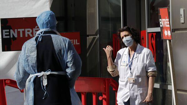 Pandémie en France - Sputnik France