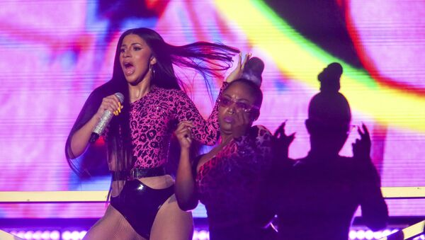 Cardi B performs during the first weekend of the Austin City Limits Music Festival in Zilker Park - Sputnik France