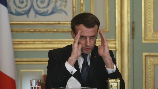Emmanuel Macron, archives - Sputnik France