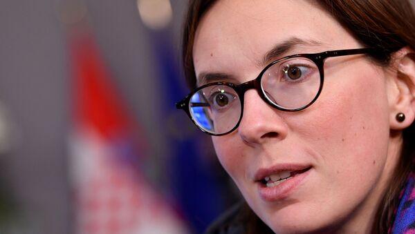 La secrétaire d'État aux Affaires européennes Amélie de Montchalin - Sputnik France