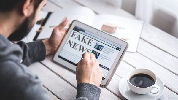 Fake news sur Internet - Sputnik France