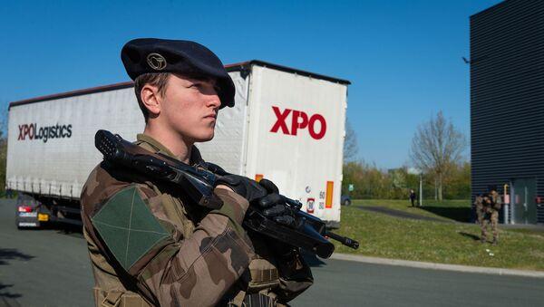 Opération Résilience : Chasseur alpin du 27e BCA  - Sputnik France