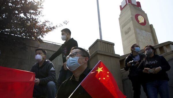 La Chine a rendu hommage à ses victimes du coronavirus, 4 avril 2020 - Sputnik France