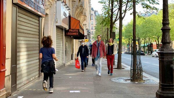 Paris en confinement pendant l'épidémie du Covid-19, 15 arrondissement, le 7 avril 2020 - Sputnik France