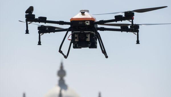 Une drone pour lutter contre le coronavirus. - Sputnik France