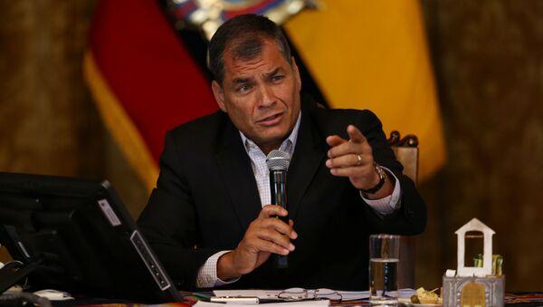 Rafael Correa - Sputnik France