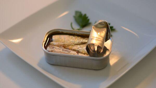 Des sardines à l'huile - Sputnik France