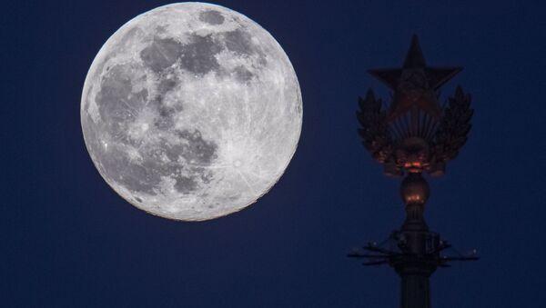 Une super Lune à Moscou en 2020 - Sputnik France