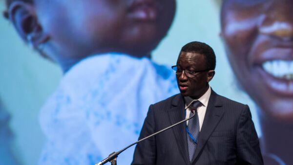 Le ministre des Affaires étrangères et des Sénégalais de l'extérieur sénégalais Amadou Bâ. - Sputnik France