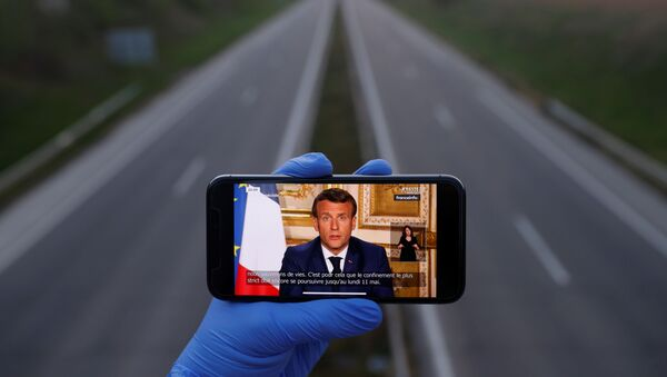 Emmanuel Macron s'adresse à la Nation, 13 avril 2020 - Sputnik France