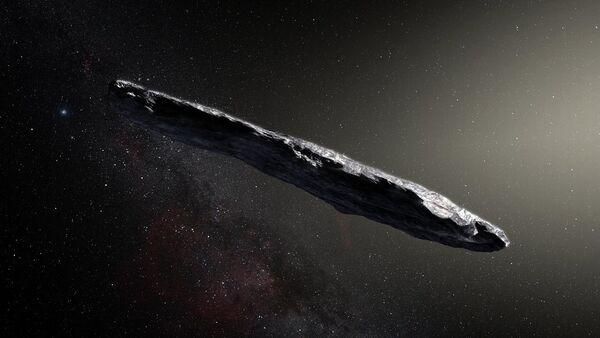L'astéroïde interstellaire 'Oumuamua, image d'illustration - Sputnik France