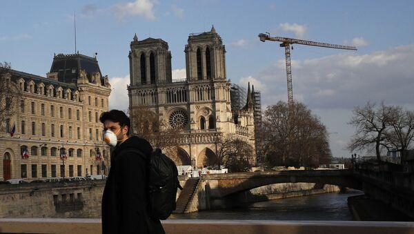 Notre-Dame de Paris pendant la pandémie de Covid-19 - Sputnik France