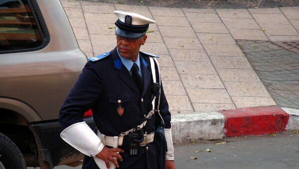 Un officier de police, Maroc - Sputnik France