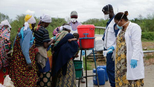 Burundi, lavage des mains contre le Covid-19 - Sputnik France
