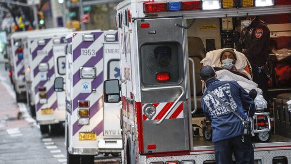 Ambulance à New York - Sputnik France