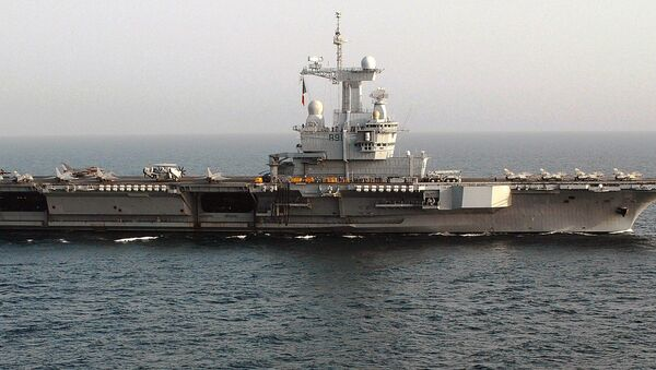 Le porte-avions Charles-de-Gaulle - Sputnik France