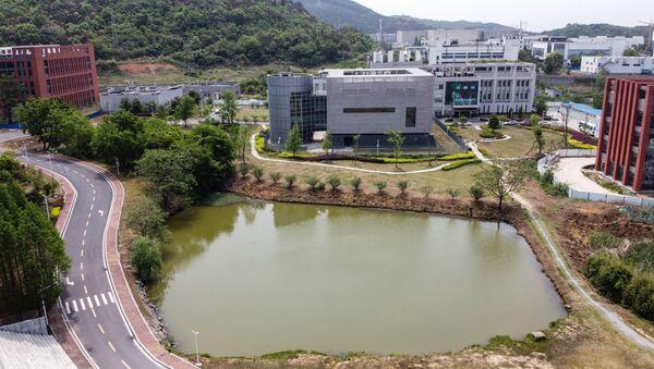 Vue aérienne du laboratoire P4 à l'Institut de virologie de Wuhan - Sputnik France