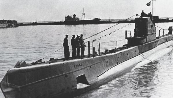 Un sous-marin soviétique du type Chtch - Sputnik France