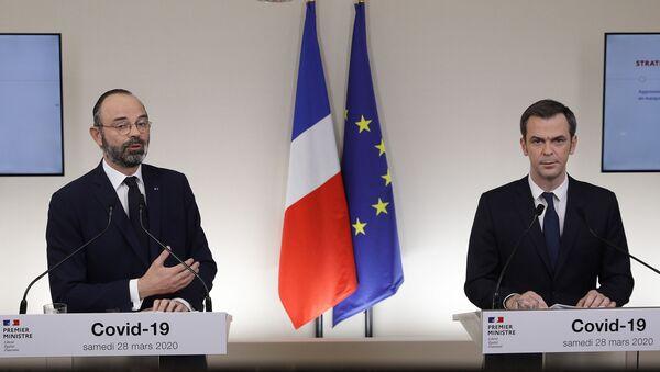 Édouard Philippe et Olivier Véran - Sputnik France