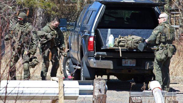 Полиция после поиска Габриэла Уортмана в Новой Шотландии, Канада - Sputnik France