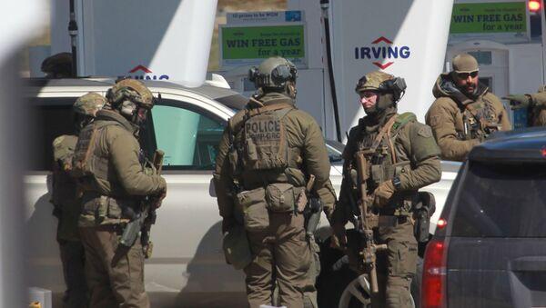 la police dans la province de Nouvelle-Ecosse, sur la côte Est du Canada - Sputnik France