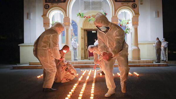 Les célébrations de la Pâque orthodoxe à travers le monde   - Sputnik France