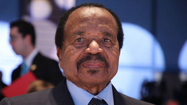 Le Président du Cameroun Paul Biya - Sputnik France