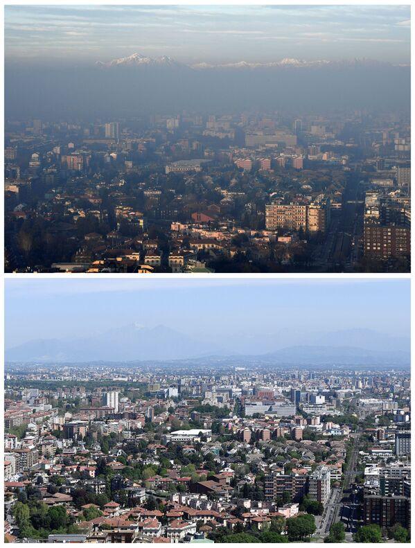 La nature reprend ses droits: depuis la début de la pandémie, le ciel des mégapoles est de nouveau bleu   - Sputnik France