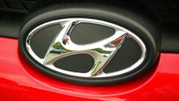 Le logo de Hyundai - Sputnik France