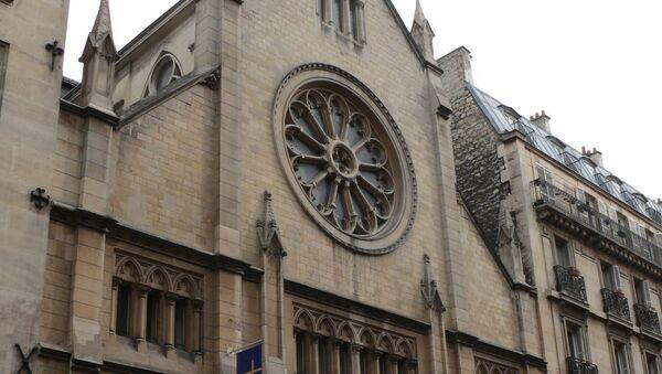 Église Saint-André-de-l'Europe, à Paris - Sputnik France